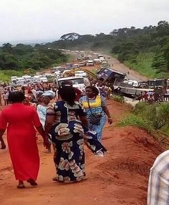 Benin – Asaba Highway – a death trap – Asaba  Delta State Nigeria